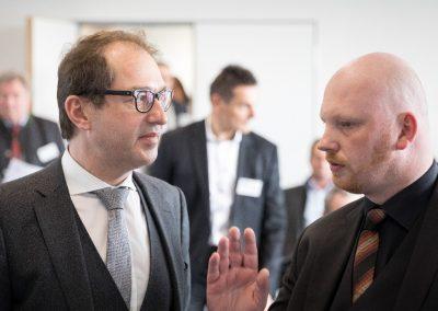 Unterwegs für Deutschlands digitale Zukunft in Weilheim