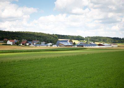 Weiler im ländlichen Raum in Bayern