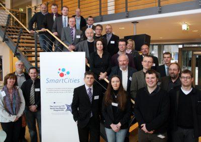 Die Teilnehmer des GIS Seminars in Oldenburg