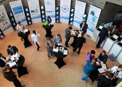 Ausstellung im Rahmen der Final Conference in Brüssel 2011