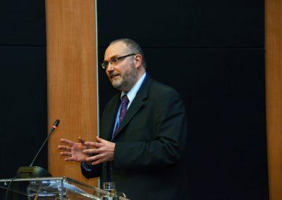 F. Meuris, Kortrijk, erläutert Digitalisierungsstrategien seiner Region