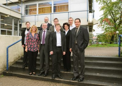 Auftakttreffen für das Projekt DANS beim Leadpartner, der Hochschule für Angewandte Wissenschaften Hamburg
