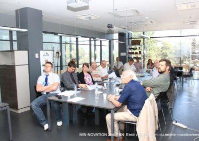 Besprechung für das Projekt Min-Novation