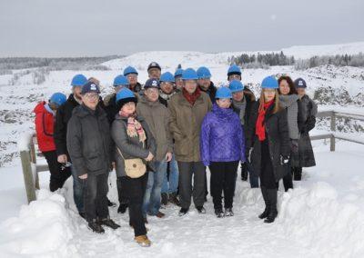 Die Teilnehmer 2011 in Vuokatti, Finnland