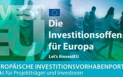 Europäisches Investitionsvorhabenportal (EIPP) – Treffpunkt für Projektträger und Investoren