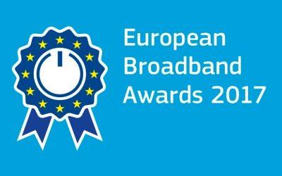 Introducing the finalists of the European Broadband Awards 2017