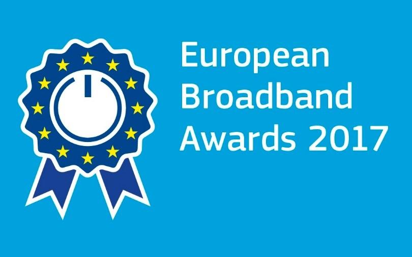 Vorstellung der Finalisten der European Broadband Awards 2017