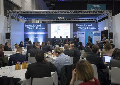 Impression vom Governmental Workshop am 24.10.2017 in Berlin beim Broadband World Forum 2017. Foto: atene KOM GmbH / Florian Schuh