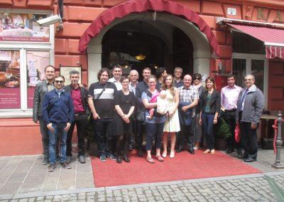 Die Teilnehmer des Kick-off-Meetings für das Projekt ZeroCo2 in Ptuj, Slowenien