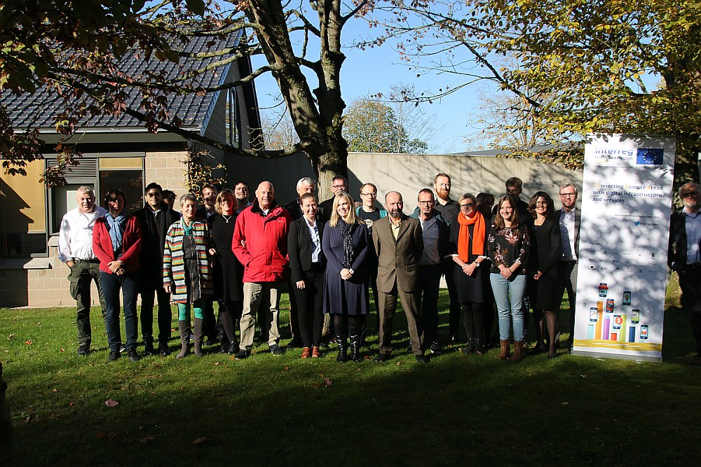 Kick-off des Projekts CORA in Kortrijk, Belgien