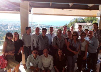 Die Teilnehmer vom 4. Meeting der Partner auf Kreta