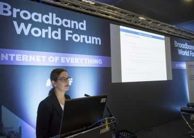 Governmental Workshop im Rahmen des Broadband World Forums 2017 in Berlin
