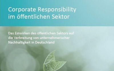 Neue Pro bono Studie der atene KOM GmbH: Corporate Responsibility im öffentlichen Sektor