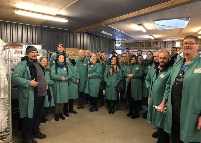 Partnertreffen LowTEMP 7. bis 9. März 2018 in Holbaek, Dänemark