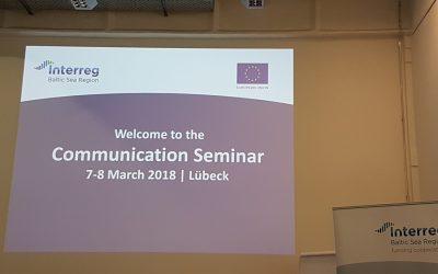 Die Außenwirkung von Projekten erhöhen – Kommunikationsseminar des Interreg VB Ostseeraums in Lübeck
