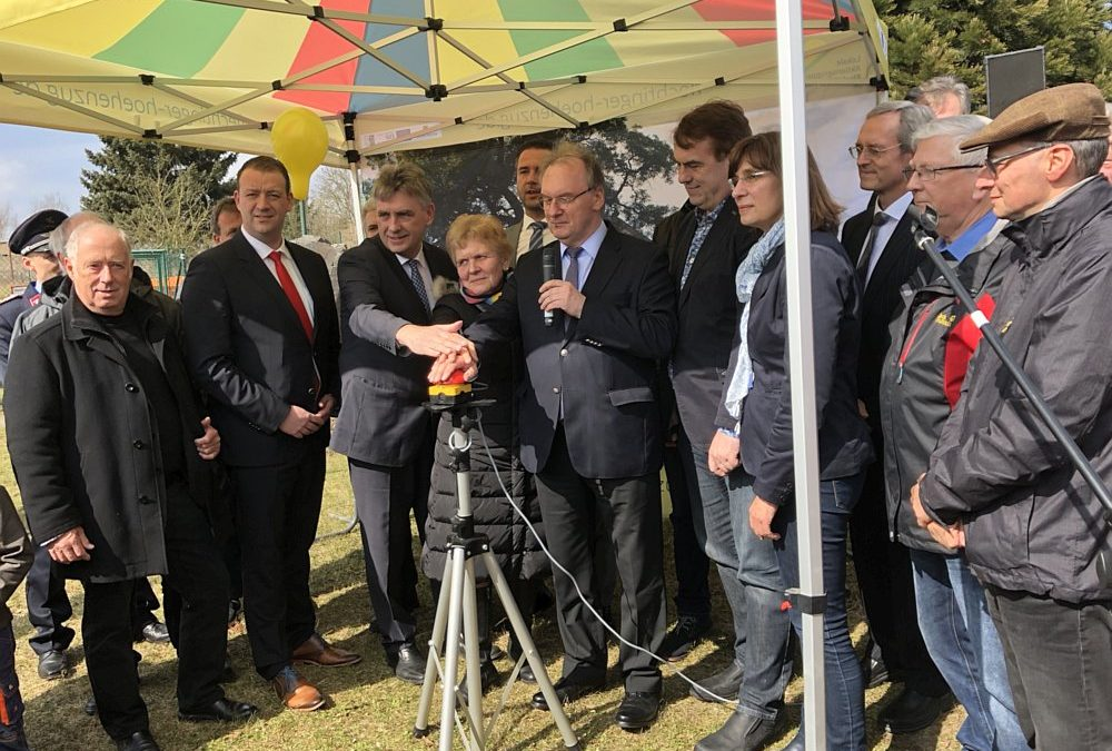Startschuss für Inbetriebnahme des Netzes in Hohe Börde