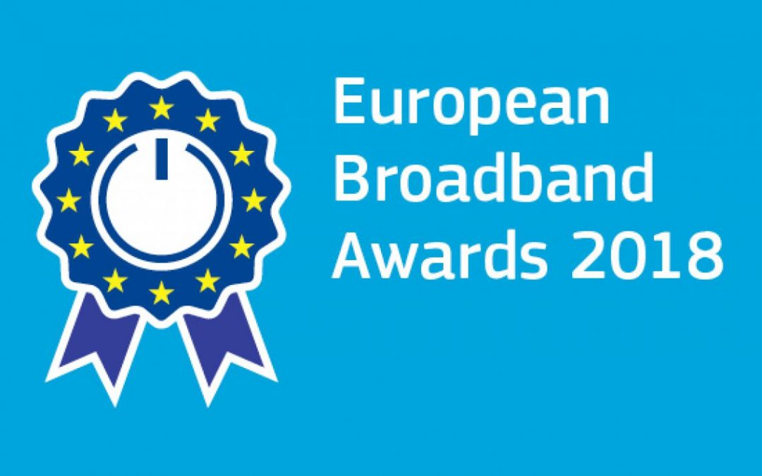Finalisten der European Broadband Awards 2018
