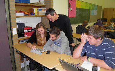 Erfolgreiche Digitalisierung an der Gesamtschule Xanten-Sonsbeck im Landkreis Wesel