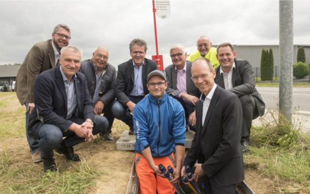 Spatenstich im Landkreis Osnabrück – eine Region wird digital
