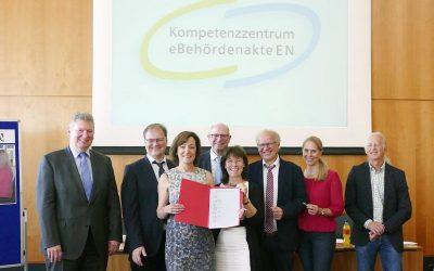 Städte im Ennepe-Ruhr-Kreis gründen Kompetenzzentrum für digitale Verwaltungsarbeit