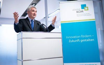 Offizielle Büroeröffnung der atene KOM am 28. September 2018 in Bonn