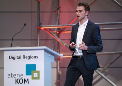 Digital Regions auf der Hypermotion, Frankfurt, 20.11.2018