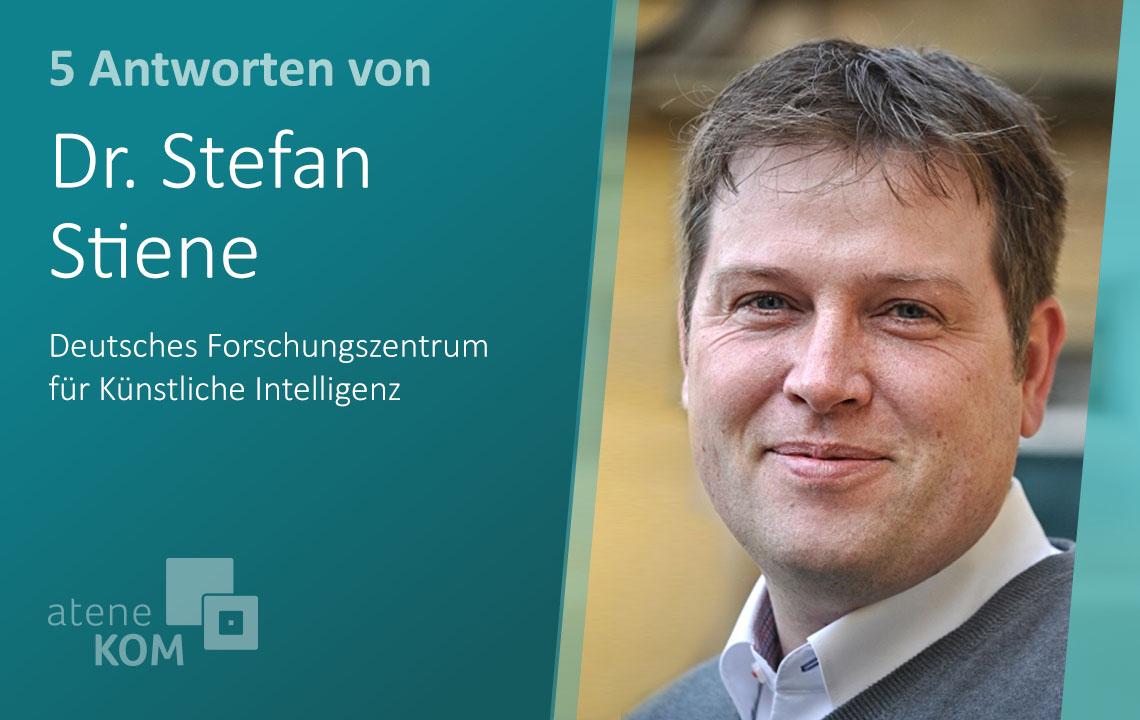 """Dr. Stefan Stiene, DFKI: """"Durch Künstliche Intelligenz wird die Landwirtschaft ökologisch und effizient"""""""