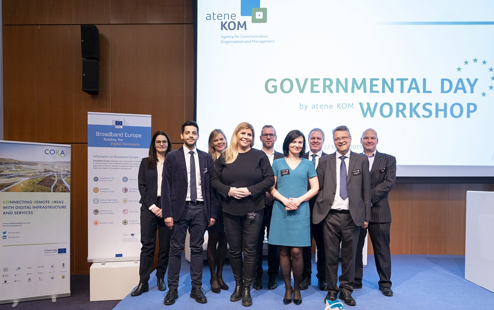 European Broadband Policy and Best Practices of Digital Transformation at the Governmental Day Workshop in Amsterdam