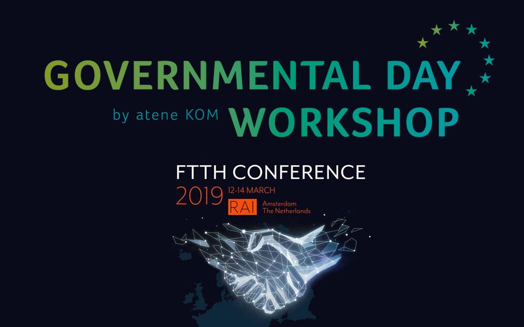 Agenda of Governmental Day Workshop in Amsterdam