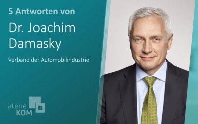 """Dr. Joachim Damasky, VDA: """"Die Potenziale des automatisierten Fahrens sind wirklich gewaltig"""""""