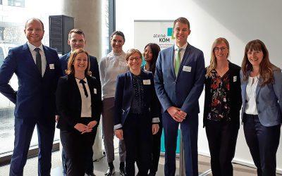 atene KOM eröffnet Regionalbüro für Bayern in München