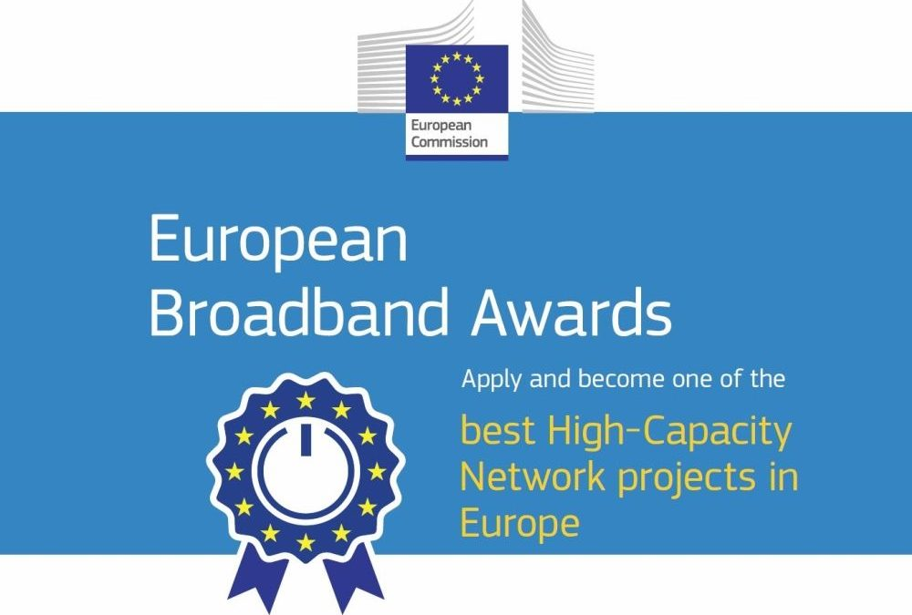 Apply for the European Broadband Awards 2019! – Deadline 28 June