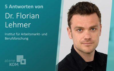 """Dr. Florian Lehmer, IAB: """"Schnelles Internet bildet die Grundlage für die Weiterentwicklung der Arbeitswelt"""""""