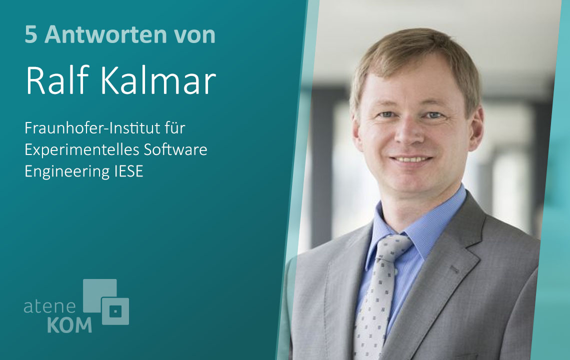 """Ralf Kalmar, Fraunhofer-Institut: """"Insellösungen verhindern die weitere Digitalisierung der Landwirtschaft"""""""