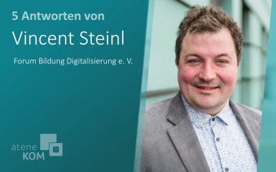 """Vincent Steinl, Forum Bildung Digitalisierung: """"Wir brauchen an Schulen größere Zeitkontingente für Digitalisierungsthemen"""""""