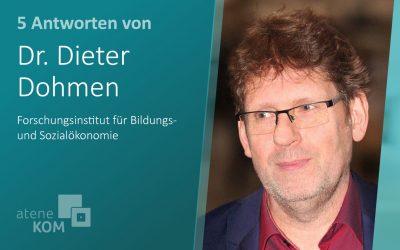 """Dr. Dieter Dohmen, FiBS: """"Mit digitalen Lerntools können verschiedene Zielgruppen genauer angesprochen werden"""""""