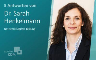 """Dr. Sarah Henkelmann, NDB: """"Digitale Technologien müssen in jedes Unterrichtsfach integriert werden"""""""