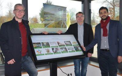 """International und digital: Das Amt Hüttener Berge sammelt wertvolle Erfahrungen in europäischem Interreg-Projekt """"CORA"""""""