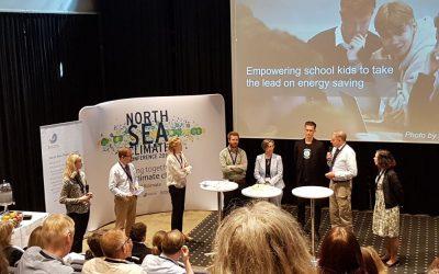 atene KOM bei der North Sea Climate Conference in Marstrand / Schweden