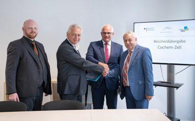 Schnelles Internet für Cochem-Zell-Förderbescheidübergabe in Berlin