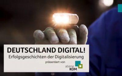 atene KOM präsentiert neues Videoformat: DEUTSCHLAND DIGITAL! Erfolgsgeschichten der Digitalisierung
