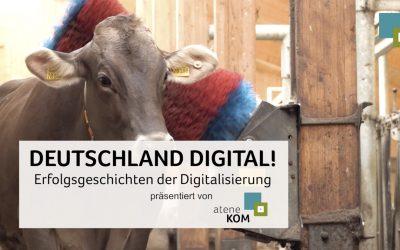 atene KOM präsentiert die zweite Folge: DEUTSCHLAND DIGITAL! Erfolgsgeschichten der Digitalisierung