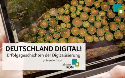 atene KOM präsentiert die vierte Folge: DEUTSCHLAND DIGITAL! Erfolgsgeschichten der Digitalisierung