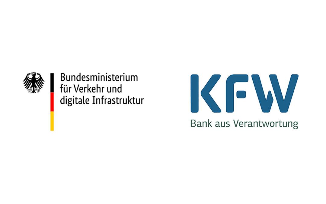BMVI+KFW Logo