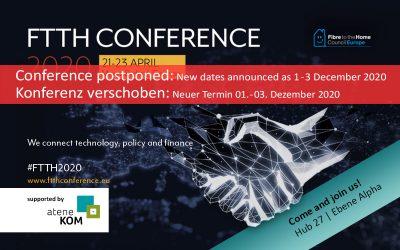 FTTH-Konferenz wegen Coronavirus verschoben