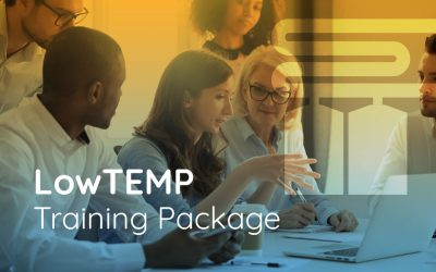 "LowTEMP partners test ""Training Package"" in online meeting"