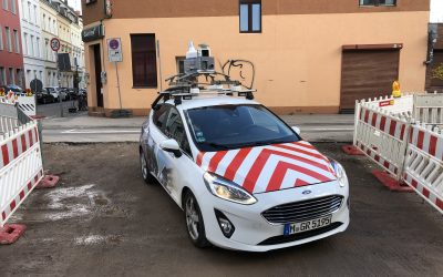 Digitale Anträge im Straßenbausektor