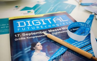 atene KOM beim DIGITAL FUTUREcongress in München