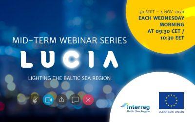 LUCIA project kicks off webinar series on public lighting