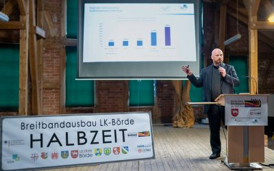 Landkreis Börde feiert Halbzeit beim Gigabit-Glasfaserausbau